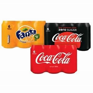 blikjes cola in de aanbieding