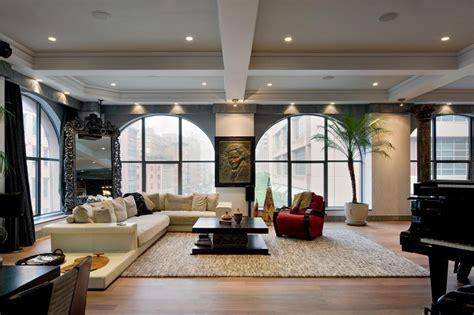 Manhattan Loft Apartments  Home Staging Living Room