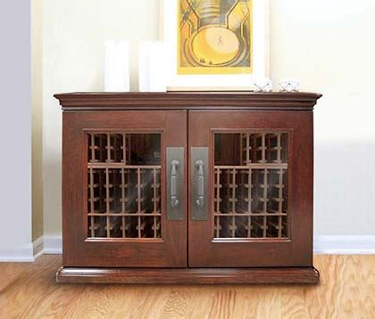 Trilogy Wine Credenza - credenzas how to store wine with style