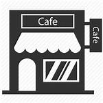 Icon Cafe Restaurant Coffee Building Icons Transparent