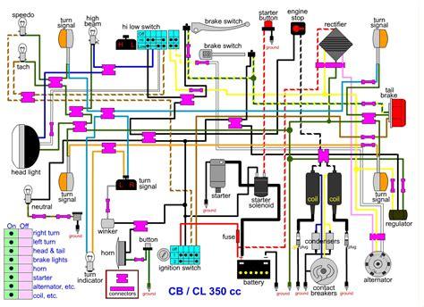 Honda Helix Key Switch Wiring Diagram by Honda Helix Wiring Diagram Webtor Me
