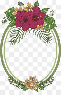 bunga karangan bunga bingkai foto gambar png