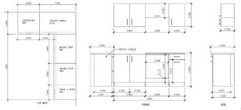 profondeur standard plan de travail cuisine hauteur standard plan de travail cuisine dcoration