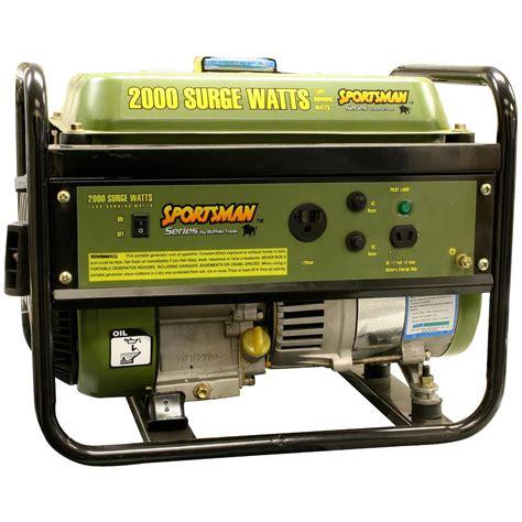 Generator Tool by Buffalo Tools 174 Sportsmans Series 2 000 Watt Portable
