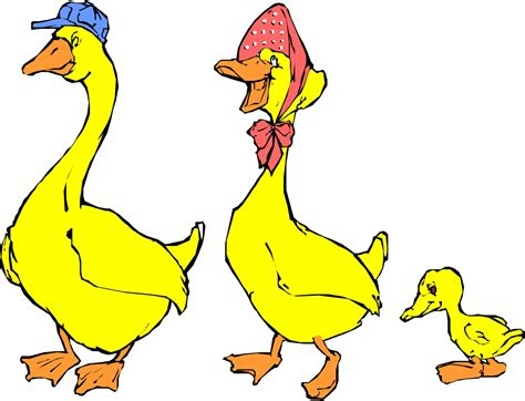 Duck Family Clipart