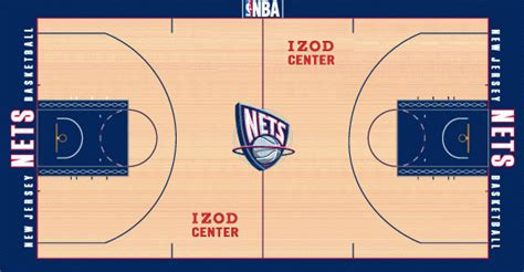 New Jersey Nets Stadium Logo - National Basketball ...