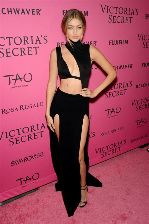 Gigi Hadid – 2015 Victoria's Secret Fashion Show After ...