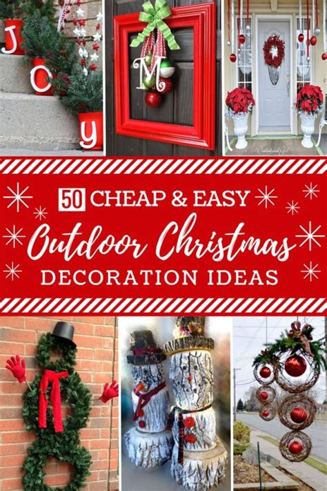 cheap and easy decorations 50 cheap easy diy outdoor decorations