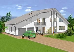 Haus Mit Integrierter Garage : exklusives haus modell a 402 gesamtwohnfl che 216 9 m rhein main hausbau gmbh ~ Frokenaadalensverden.com Haus und Dekorationen