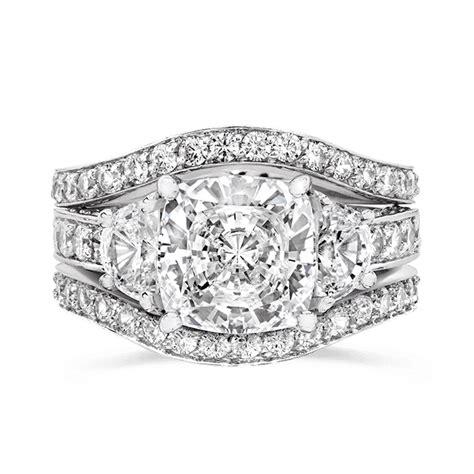 cubic zirconia rings 3 5 ct cushion cut 14k wedding r7557w