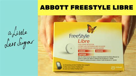 abbott freestyle libre sensor unboxing