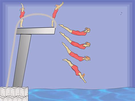 How To Dive by How To Do A Swan Dive From The Side Of A Swimming Pool 10