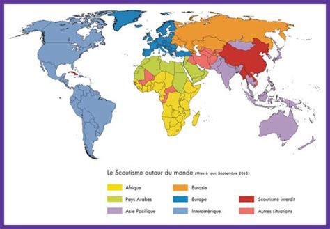 bureau de recensement histoire scoutisme mondial
