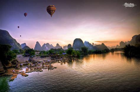Rock Climbing Yangshuo Guangxi Province