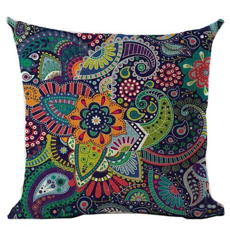 boho pillow covers new indian mandala bohemian pillow cover elephant