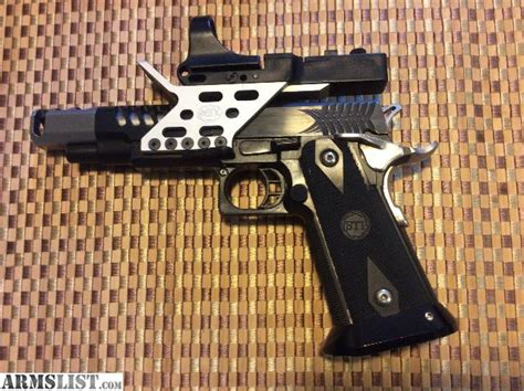 armslist for sale sti steelmaster 2011 9mm race pistol