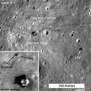 Flags Still Standing at Several Apollo Landing Sites on ...
