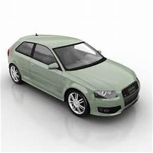 Land Transport 3D Models Car Audi N111108 - 3D model