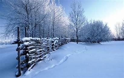 Winter Scenes Scene Wallpapers Snow Desktop Nature
