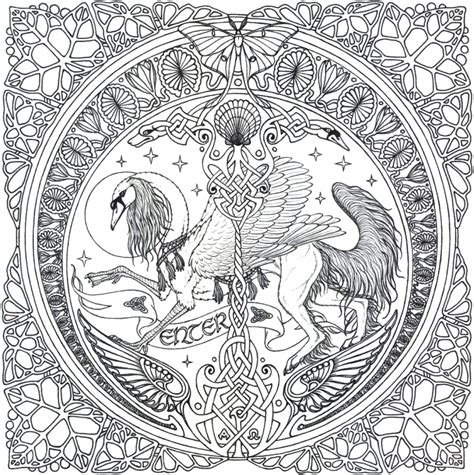 complex coloring pages  print  adults svhy