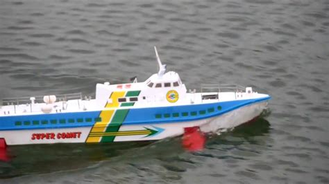 Hydrofoil Rc Boat by Tragfl 228 Chenboot Comet Pt50 Hydrofoil Rc Scale1 40