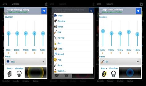 best equalizer for android the 10 best equalizers for android vondroid