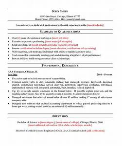 Free general resume template for General resume