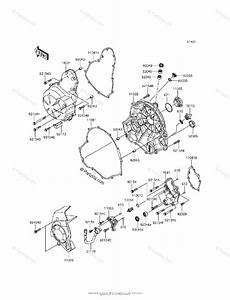 Kawasaki Motorcycle 2014 Oem Parts Diagram For Engine