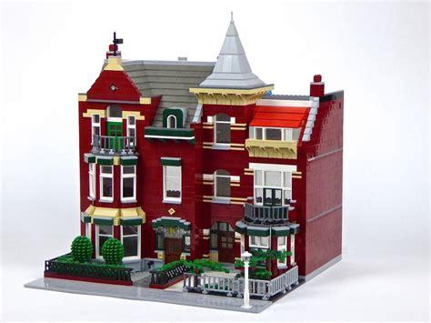 Moderne Lego Häuser by 400 Besten Lego H 228 User Bilder Auf Lego Haus