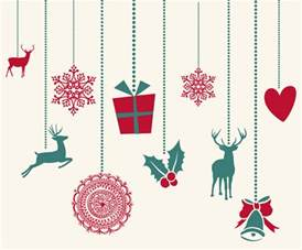 14 free vector christmas decorations images free vector art christmas decorations vector