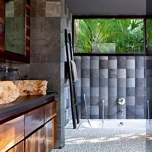 Salle De Bain Exotique : salle de bain exotique marie claire ~ Teatrodelosmanantiales.com Idées de Décoration