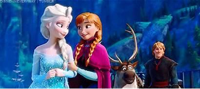 Frozen Ending Ride Elsa Anna Disney Alternate