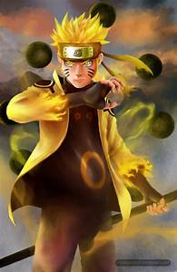 Naruto - Six Paths Sage Mode by minhquach94 on DeviantArt