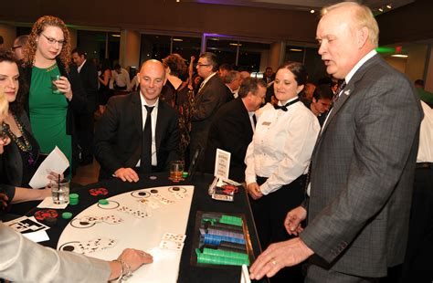 dallas stars casino night raises   charity