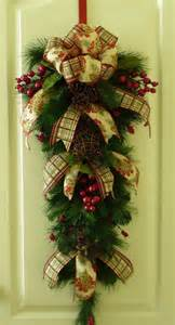 christmas sale traditional christmas swag rustic wreath front door