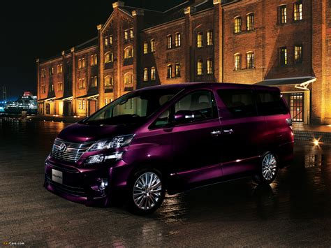 Toyota Vellfire Wallpapers by Toyota Vellfire 3 5 Z G Edition Ggh20w 2011 Wallpapers