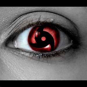 Sharingan Contact Lenses Naruto-Itachi