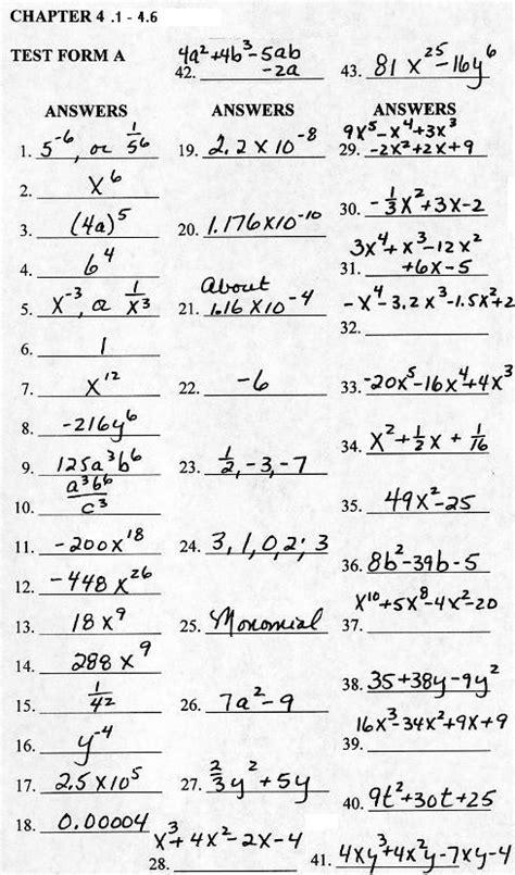 math  practice test  chapter    gramlich
