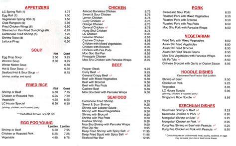 lcs asian kitchens menu    yelp