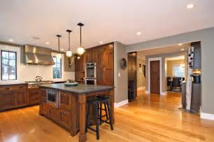 craftsman style home chicago modern kitchen chicago by hull forest products