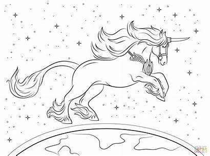 Unicorn Coloring Unicorns