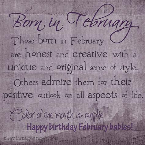 BORN IN FEBRUARY   February birthday quotes, Birthday ...