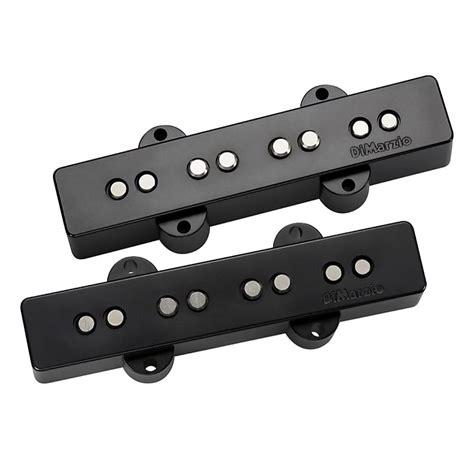 dimarzio ultra jazz bass pair black dp149 reverb