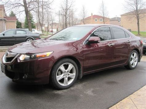 Sell Used 2010 Acura Tsx Sedan 4-door 2.4l With Technology