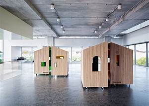 Mobile Private Space for Working Alone or with Co-workers ...