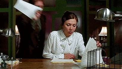 Secretary Maggie Gyllenhaal Behavior Gifs 2002 Bad