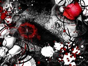 Colors images red, white & black HD wallpaper and ...