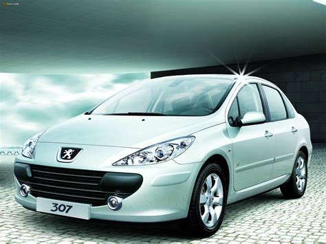 Peugeot 307 Sedan Cn-spec 2007 Wallpapers (2048x1536