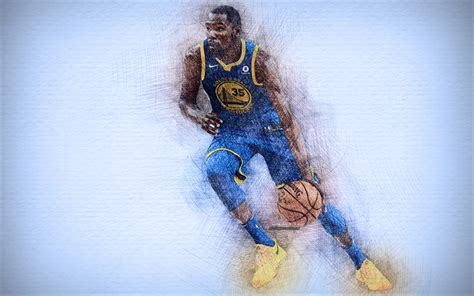 wallpapers kevin durant  artwork basketball
