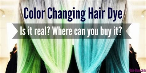 hair changing color colour changing hair dye